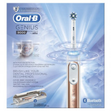 Oral-B Genius 9000 Rose Gold Elektromos fogkefe (CrossAction fejjel)