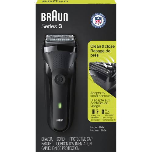 ... Braun Series 3 300s Borotva (fekete) d004831e19