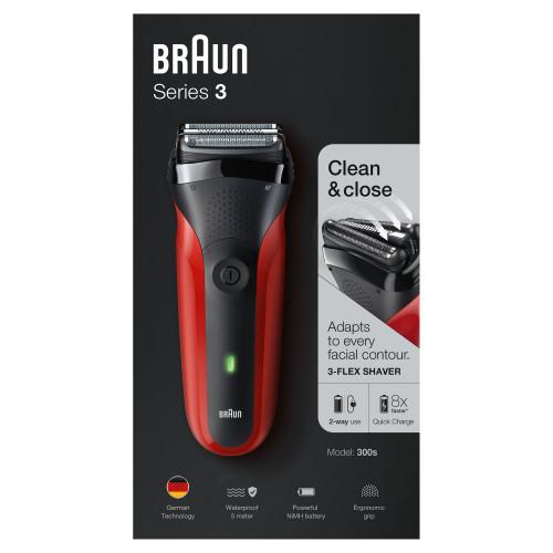 ... Braun Series 3 300s Borotva (piros) ... 4518d53445